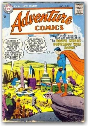 superboy adventure comic