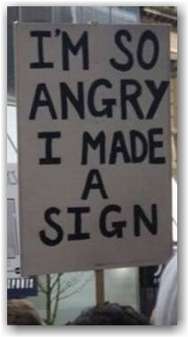 Occupy sign