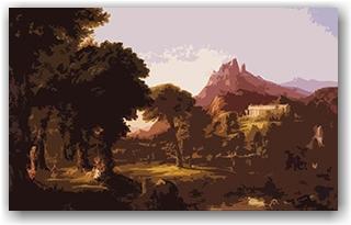 Dream of Arcadia - Thomas Cole